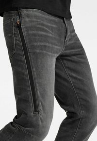 G-Star - CITISHIELD 3D SLIM TAPERED - Slim fit jeans - faded gravel grey wp - 4
