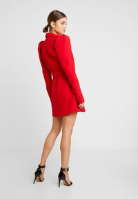 Nly by Nelly - VOLUME SLEEVE SUIT DRESS - Kjole - red - 3