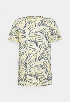 ONSIASON SLIM TEE - T-shirt med print - pale banana