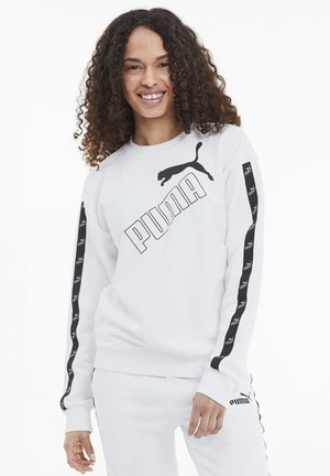 AMPLIFIED CREW NECK - Sweatshirt - white