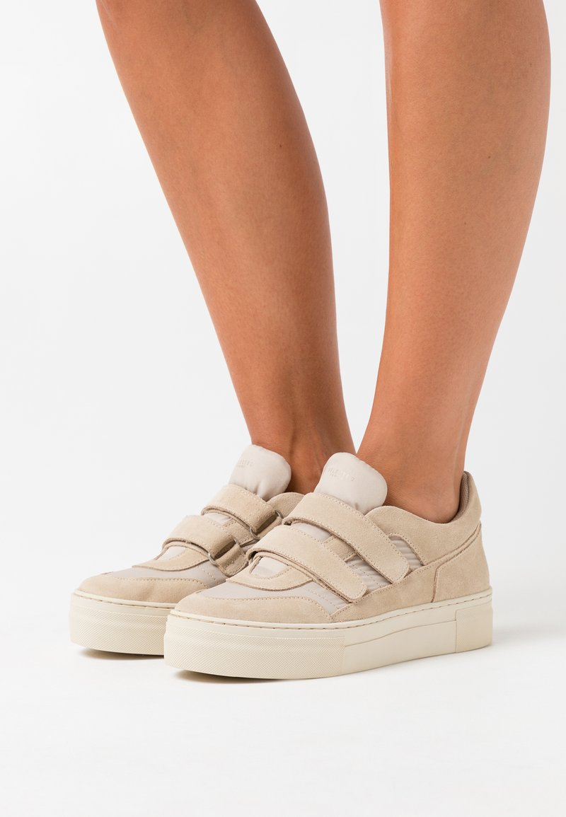 Selected Femme - SLFHAILEY TRAINER  - Trainers - sandshell