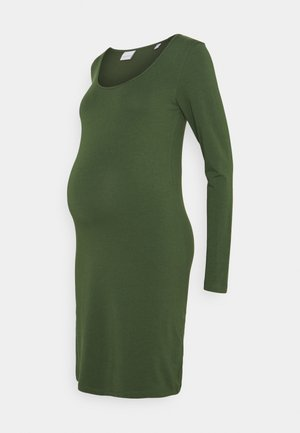 MLAYA SHORT DRESS - Vestido ligero - black forest