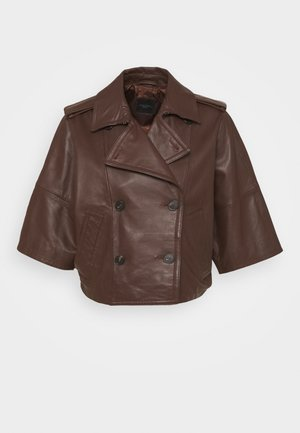 VENETO - Leather jacket - bronze