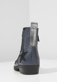 Shoesme - WESTERN - Kotníkové boty - marine - 4