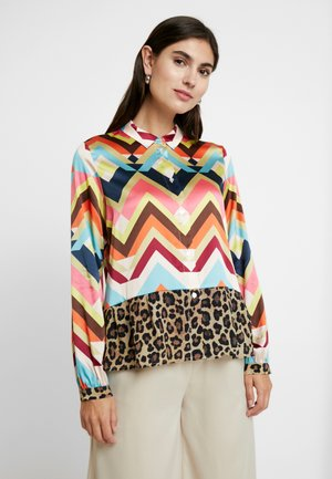 ZACKEN UND LEO - Button-down blouse - multicolor