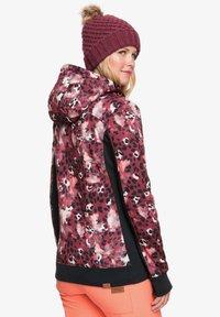 Roxy - FROST PRINTED - Fleece jacket - oxblood red leopold - 3