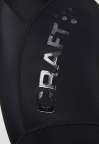 Craft - ESSENCE BIB SHORTS - Punčochy - black/white - 6