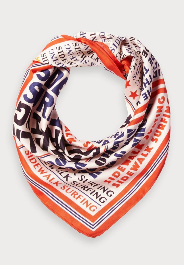 SILKY PRINTED - Foulard - multi-coloured