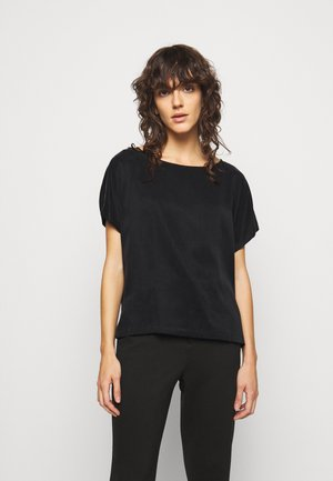 SOMIA - Basic T-shirt - schwarz