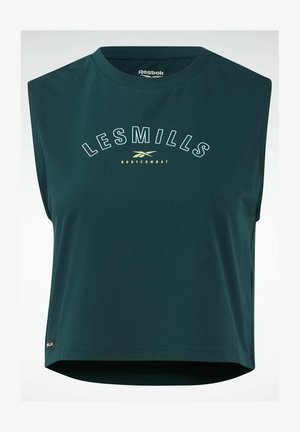 LES MILLS® BODYCOMBAT® CROPPED - Top - green