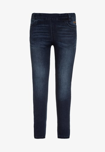 NITTONJA - Jeans Skinny Fit - dark blue denim