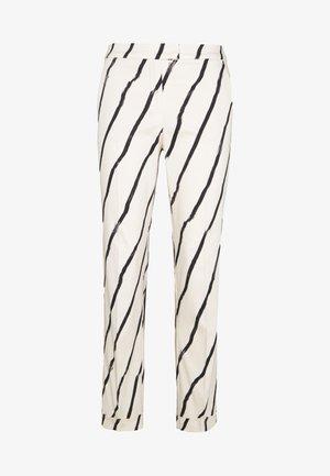CEMENTO - Tygbyxor - ivory pattern