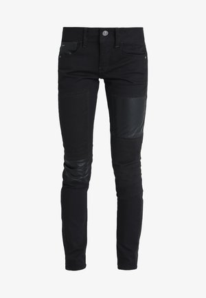 LYNN MID SKINNY RESTORED  - Jeans Skinny Fit - ita black superstretch