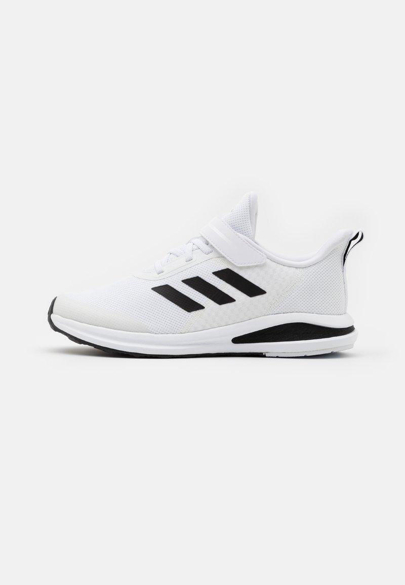 adidas Performance - FORTARUN UNISEX - Neutral running shoes - footwear white/core black