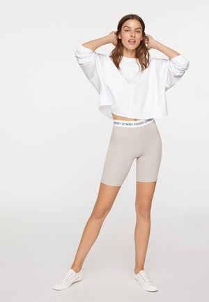 Sports shorts - beige