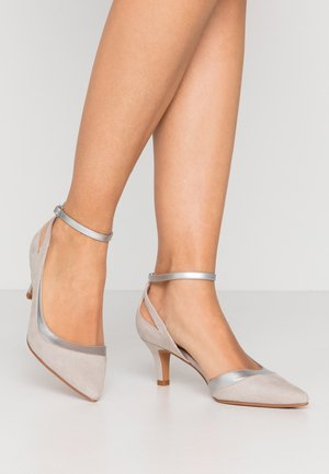 Klassieke pumps - light grey