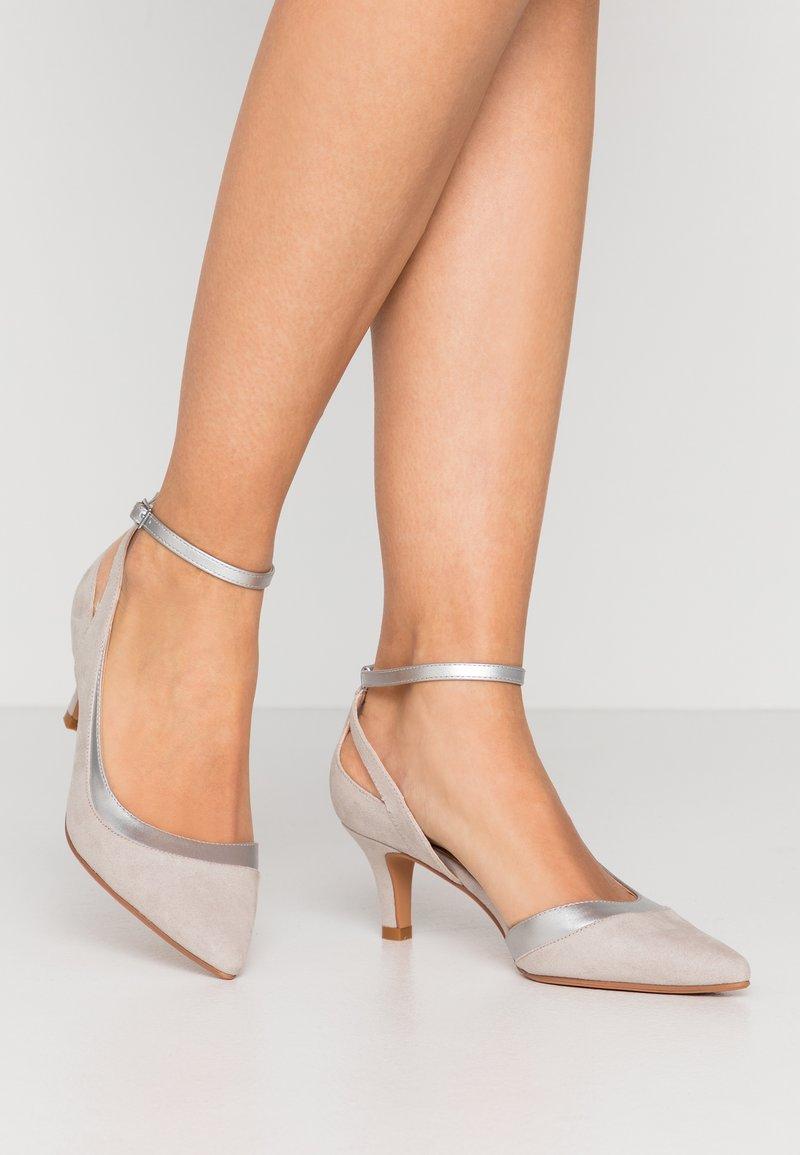 Anna Field - Tacones - light grey
