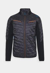 MAN HYBRID JACKET - Outdoor jacket - anthracite