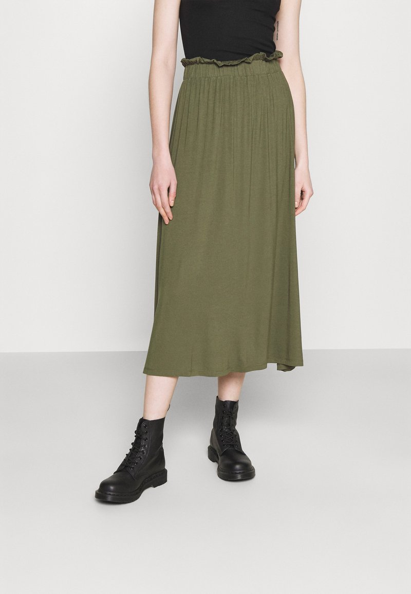 Even&Odd - A-line skjørt - dark green