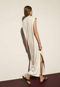 Massimo Dutti - Maxi dress - beige - 1