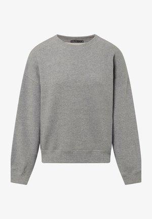 MIT VERSTÄRKTEN ABSCHLÜSSEN - Mikina skapucí - light grey