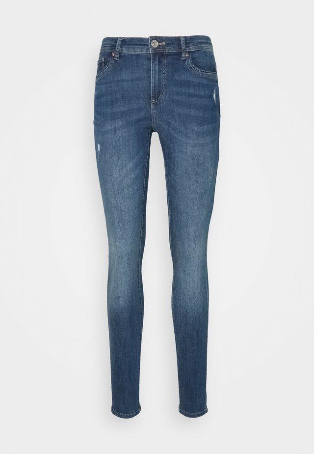 ONLWAUW LIFE MID - Jeans Skinny - medium blue denim