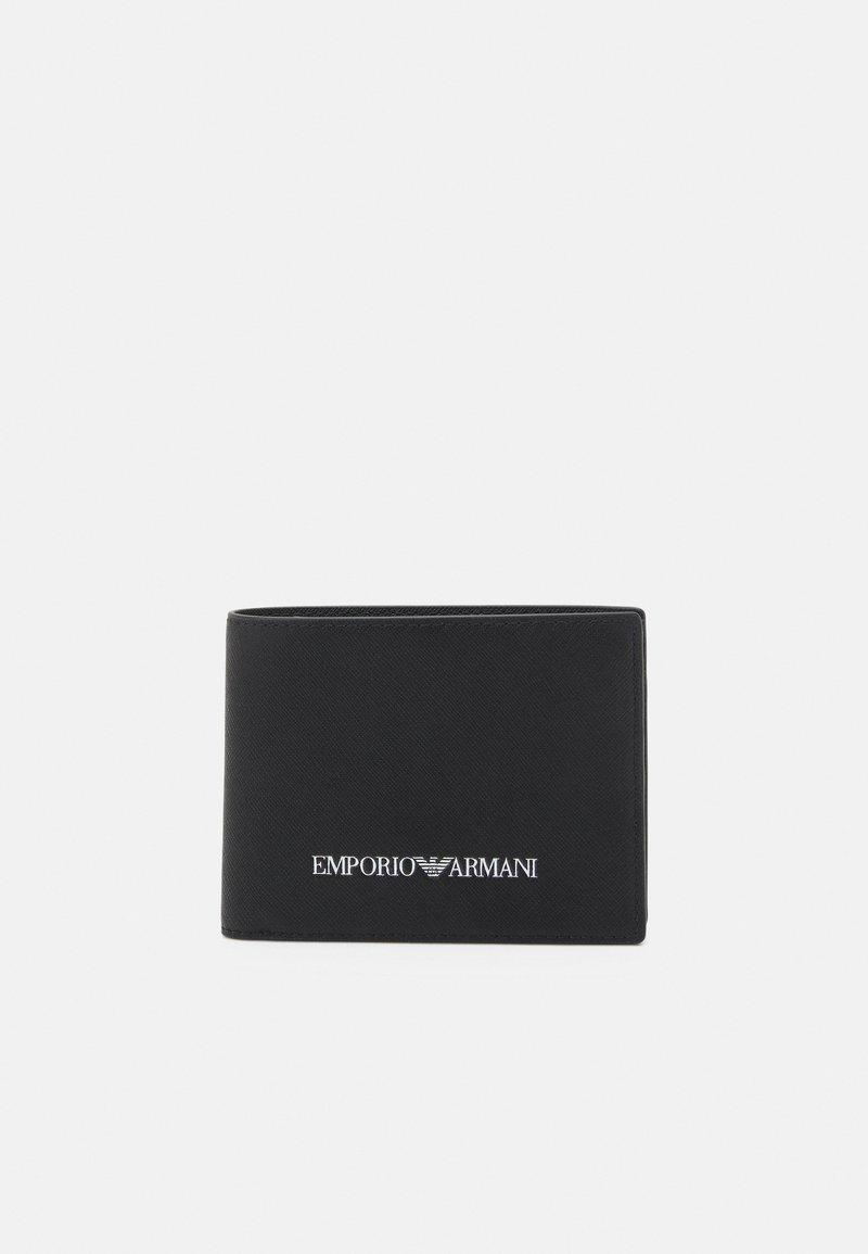 Emporio Armani - WALLET UNISEX - Plånbok - black