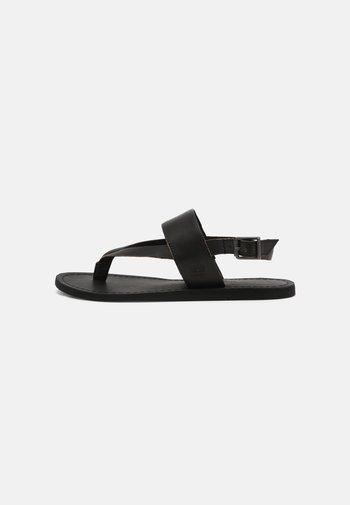 CAROLISTA ANKLE - T-bar sandals - black