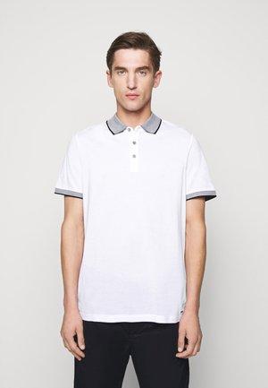 LOGO COLLAR  - Polo shirt - white