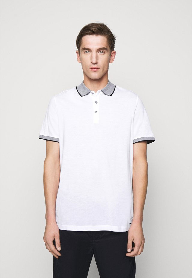 LOGO COLLAR  - Polo - white