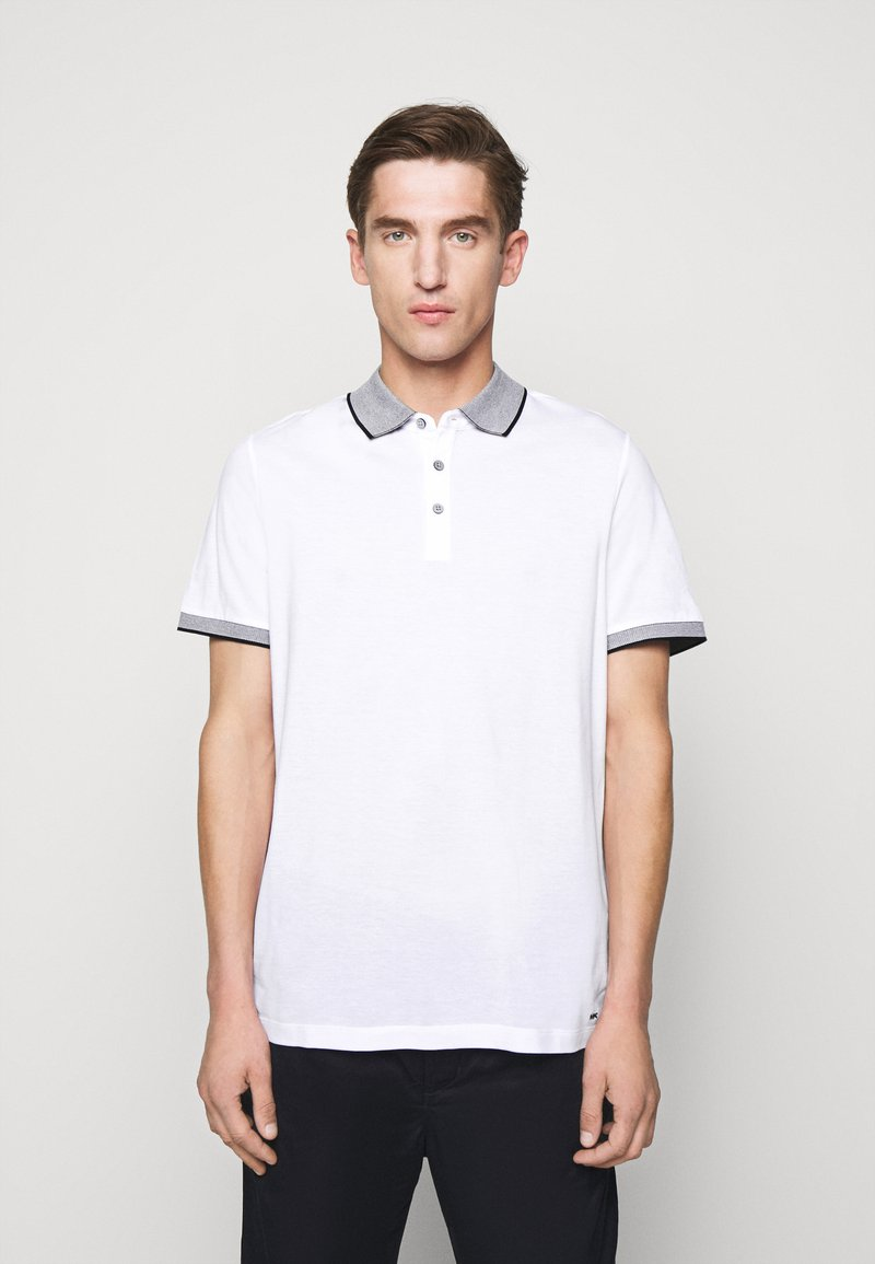Michael Kors - LOGO COLLAR  - Polo shirt - white