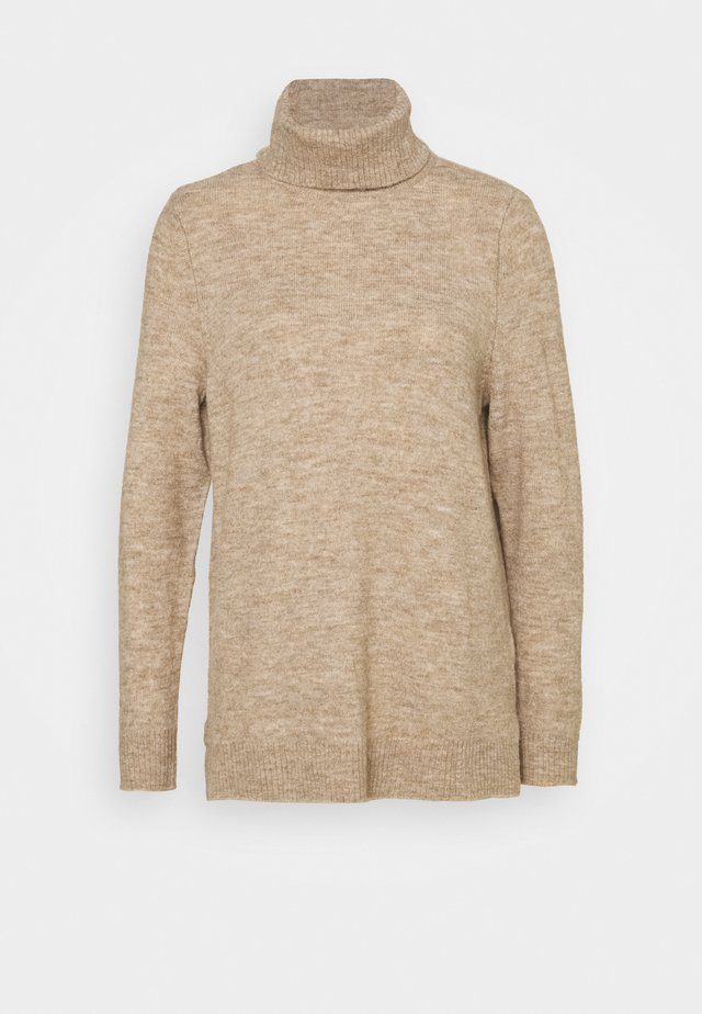 ONLCORINNE HIGHNECK - Maglione - toasted coconut