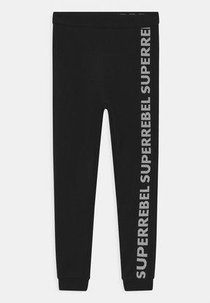 UNISEX - Teplákové kalhoty - black