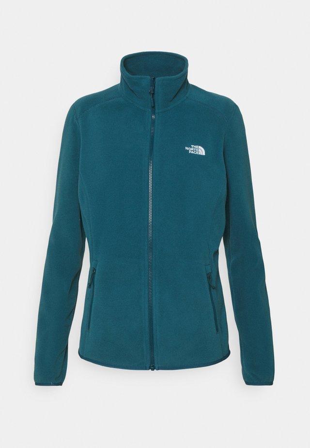 GLACIER FULL ZIP - Fleece jacket - monterey blue