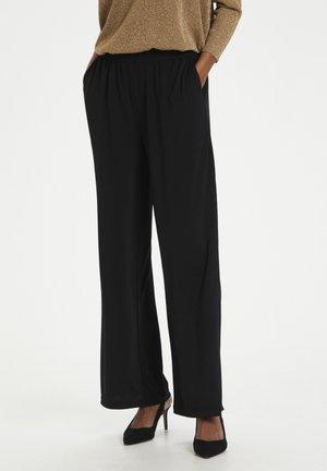 Trousers - black deep