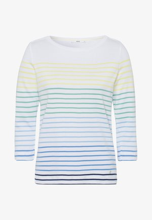 STYLE COLLETTA - Long sleeved top - water