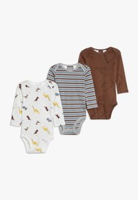 Carter's - BOY ANIMAL BABY 3 PACK - Body - multi-coloured - 0