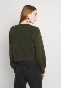 Monki - Cardigan - dark green - 2