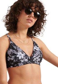 Superdry - Bikini top - black hawaiian - 0