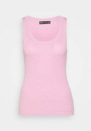 SCOOP VEST - Top - light pink