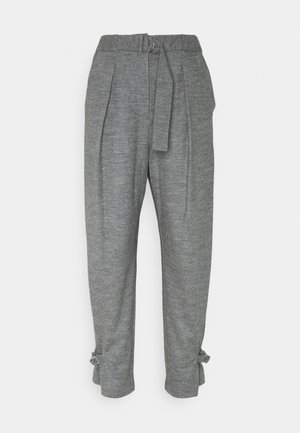 CINCHED TROUSER - Bukse - grey