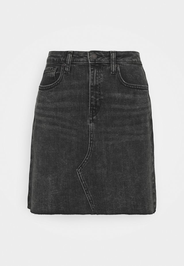 REISSUE - Jupe trapèze - washed black