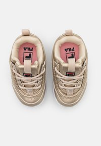 Fila - DISRUPTOR INFANTS - Sneakers laag - gold - 3