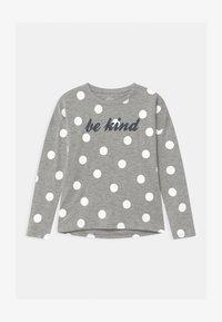 Name it - NKFVALTINE - Long sleeved top - grey melange - 0