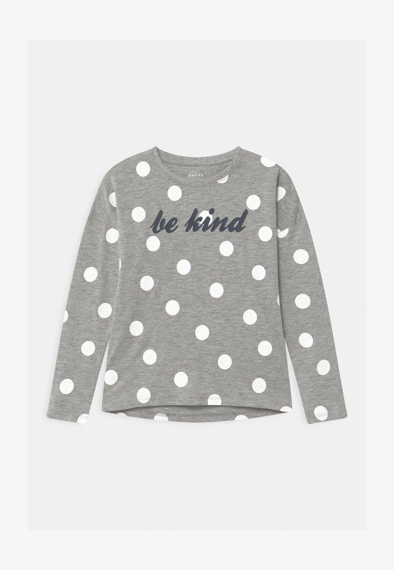 Name it - NKFVALTINE - Long sleeved top - grey melange