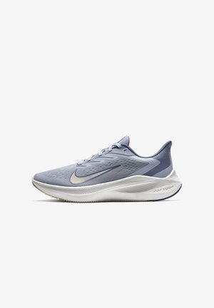 ZOOM WINFLO  - Neutral running shoes - ghost/guava ice/summit white/world indigo