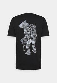 Icebreaker - TECH LITE CREWE FOREVER - T-shirt imprimé - black - 1