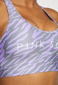 Pink Soda - ZEBRA BRA - Medium support sports bra - lilac - 6