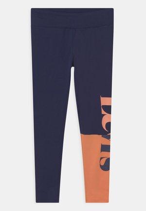 COLORBLOCK - Leggings - Trousers - peacoat
