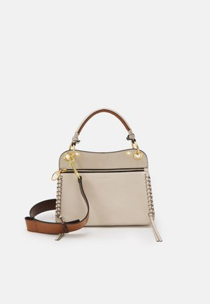 TILDA MEDIUM - Handbag - cement beige